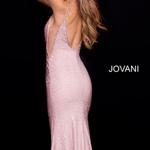 Jovani 57897 Spaghetti Strap Dress